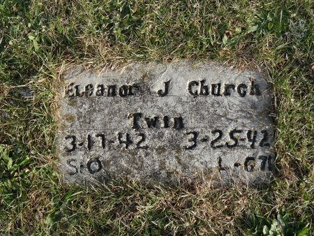 CHURCH, ELEANOR J. - Stark County, Ohio | ELEANOR J. CHURCH - Ohio Gravestone Photos