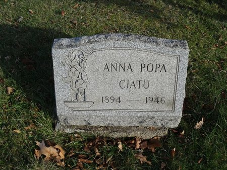 CIATU, ANNA POPA - Stark County, Ohio | ANNA POPA CIATU - Ohio Gravestone Photos