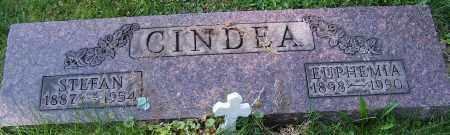 CINDEA, EUPHEMIA - Stark County, Ohio | EUPHEMIA CINDEA - Ohio Gravestone Photos