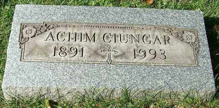 CIUNGAR, ACHIM - Stark County, Ohio | ACHIM CIUNGAR - Ohio Gravestone Photos