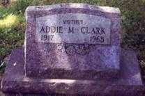 CLARK, ADDIE M. - Stark County, Ohio | ADDIE M. CLARK - Ohio Gravestone Photos