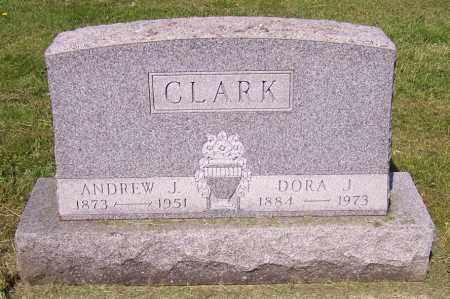 CLARK, DORA J. - Stark County, Ohio   DORA J. CLARK - Ohio Gravestone Photos