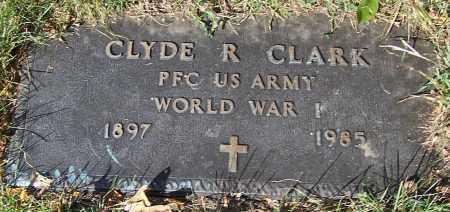CLARK, CLYDE R. - Stark County, Ohio | CLYDE R. CLARK - Ohio Gravestone Photos