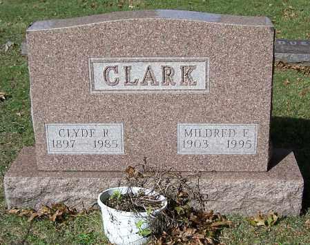 CLARK, MILDRED E. - Stark County, Ohio   MILDRED E. CLARK - Ohio Gravestone Photos