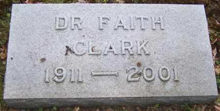 CLARK, DR. FAITH - Stark County, Ohio | DR. FAITH CLARK - Ohio Gravestone Photos