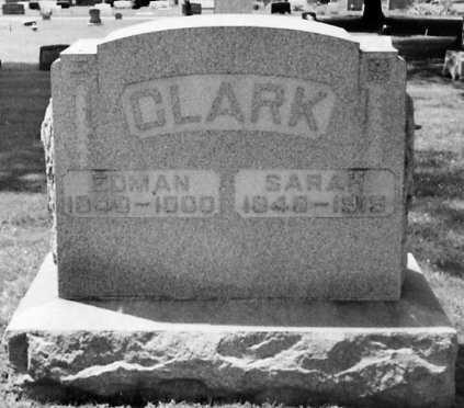 CLARK, EDMAN - Stark County, Ohio | EDMAN CLARK - Ohio Gravestone Photos