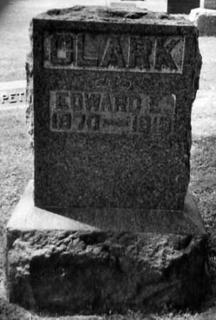 CLARK, EDWARD E. - Stark County, Ohio | EDWARD E. CLARK - Ohio Gravestone Photos