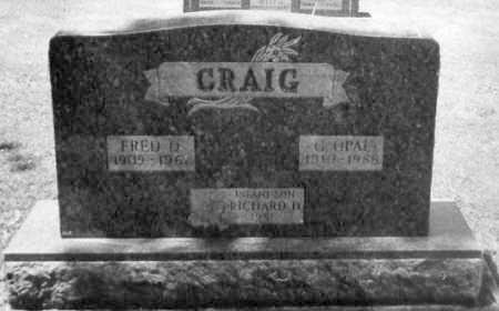 CLARK, FRED D. - Stark County, Ohio   FRED D. CLARK - Ohio Gravestone Photos