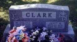 CLARK, M. DELONE - Stark County, Ohio | M. DELONE CLARK - Ohio Gravestone Photos