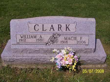CLARK, MACIE F. - Stark County, Ohio | MACIE F. CLARK - Ohio Gravestone Photos
