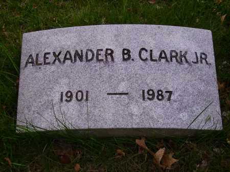 CLARK,JR, ALEXANDER B. - Stark County, Ohio   ALEXANDER B. CLARK,JR - Ohio Gravestone Photos