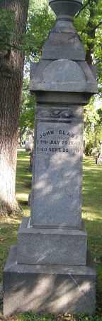 CLASS, JOHN - Stark County, Ohio | JOHN CLASS - Ohio Gravestone Photos