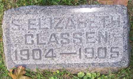 CLASSEN, S.ELIZABETH - Stark County, Ohio | S.ELIZABETH CLASSEN - Ohio Gravestone Photos
