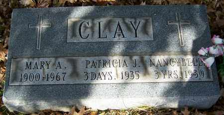 CLAY, NANCY BELLE - Stark County, Ohio | NANCY BELLE CLAY - Ohio Gravestone Photos