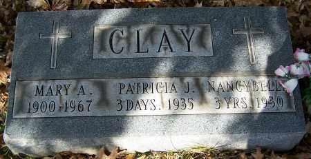 CLAY, PATRICIA J. - Stark County, Ohio | PATRICIA J. CLAY - Ohio Gravestone Photos
