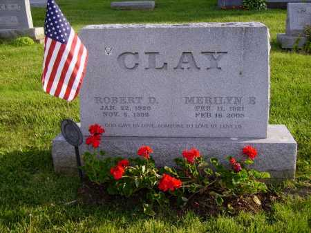 CLAY, ROBERT D. - Stark County, Ohio | ROBERT D. CLAY - Ohio Gravestone Photos