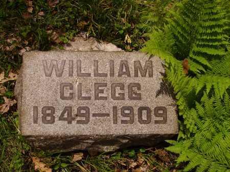 CLEGG, WILLIAM - Stark County, Ohio | WILLIAM CLEGG - Ohio Gravestone Photos
