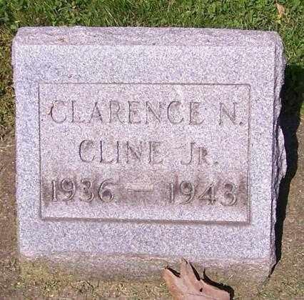CLINE, CLARENCE N. (JR) - Stark County, Ohio | CLARENCE N. (JR) CLINE - Ohio Gravestone Photos