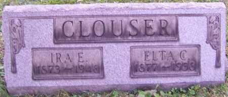CLOUSER, IRA E. - Stark County, Ohio | IRA E. CLOUSER - Ohio Gravestone Photos