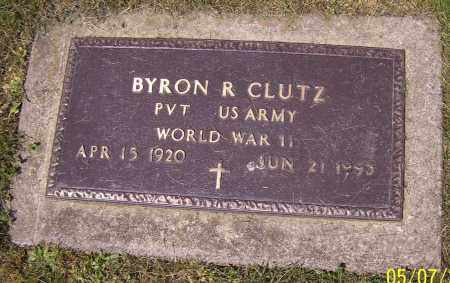 CLUTZ, BYRON R. - Stark County, Ohio   BYRON R. CLUTZ - Ohio Gravestone Photos