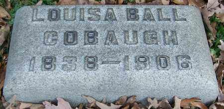 COBAUGH, LOUISA BALL - Stark County, Ohio | LOUISA BALL COBAUGH - Ohio Gravestone Photos