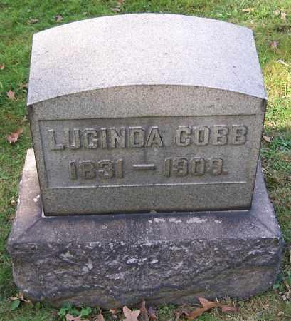 COBB, LUCINDA - Stark County, Ohio | LUCINDA COBB - Ohio Gravestone Photos