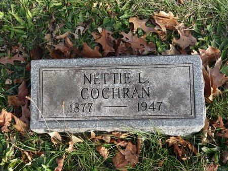 COCHRAN, NETTIE L. - Stark County, Ohio | NETTIE L. COCHRAN - Ohio Gravestone Photos
