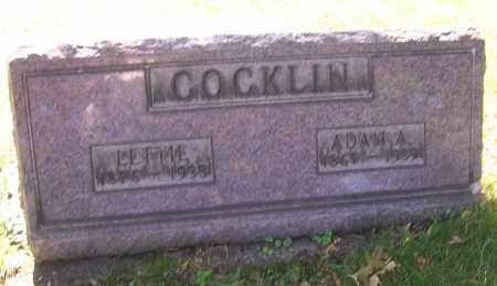 COCKLIN, ADAM A. - Stark County, Ohio | ADAM A. COCKLIN - Ohio Gravestone Photos