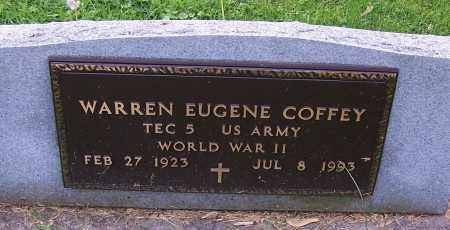 COFFEY, WARREN EUGENE - Stark County, Ohio | WARREN EUGENE COFFEY - Ohio Gravestone Photos