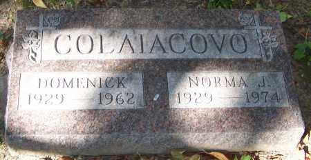 COLAIACOVO, DOMENICK - Stark County, Ohio   DOMENICK COLAIACOVO - Ohio Gravestone Photos