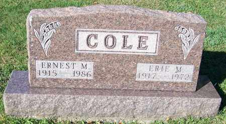 COLE, ERNEST M. - Stark County, Ohio | ERNEST M. COLE - Ohio Gravestone Photos