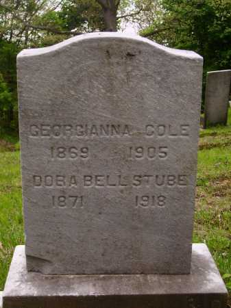 COLE, GEORGIANNA - Stark County, Ohio | GEORGIANNA COLE - Ohio Gravestone Photos