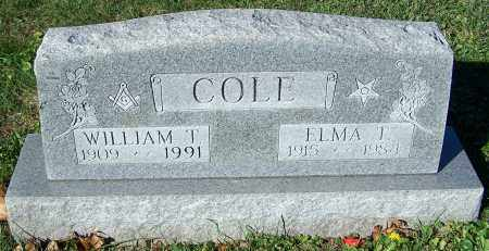 COLE, WILLIAM T. - Stark County, Ohio | WILLIAM T. COLE - Ohio Gravestone Photos