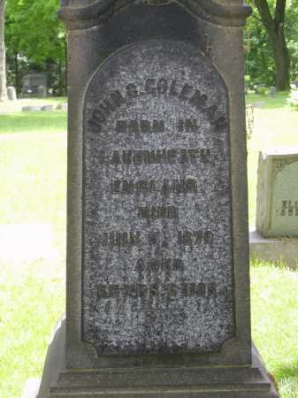COLEMAN, JOHN G. - Stark County, Ohio | JOHN G. COLEMAN - Ohio Gravestone Photos