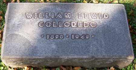 COLLOREDO, WILLIAM LEWIS - Stark County, Ohio | WILLIAM LEWIS COLLOREDO - Ohio Gravestone Photos