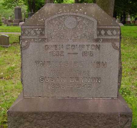 BEYNON, THOMAS - Stark County, Ohio | THOMAS BEYNON - Ohio Gravestone Photos