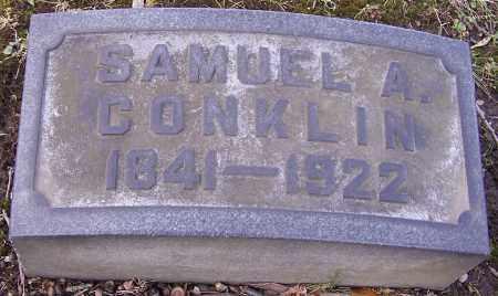 CONKLIN, SAMUEL A. - Stark County, Ohio   SAMUEL A. CONKLIN - Ohio Gravestone Photos