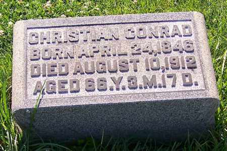 CONRAD, CHRISTIAN - Stark County, Ohio   CHRISTIAN CONRAD - Ohio Gravestone Photos