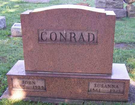 CONRAD, JOHN - Stark County, Ohio | JOHN CONRAD - Ohio Gravestone Photos
