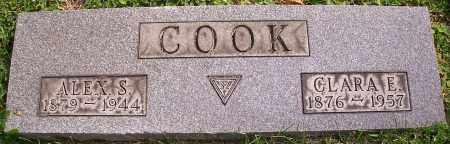 COOK, CLARA E. - Stark County, Ohio | CLARA E. COOK - Ohio Gravestone Photos