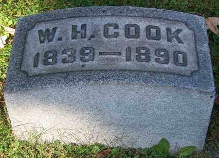 COOK, W.H. - Stark County, Ohio   W.H. COOK - Ohio Gravestone Photos