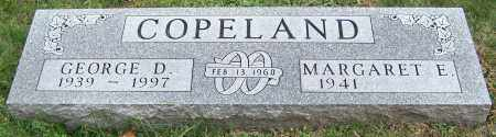 COPELAND, MARGARET E. - Stark County, Ohio | MARGARET E. COPELAND - Ohio Gravestone Photos