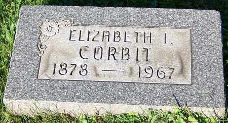 CORBIT, ELIZABETH I. - Stark County, Ohio   ELIZABETH I. CORBIT - Ohio Gravestone Photos