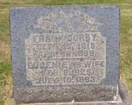 CORBY, FRANK - Stark County, Ohio | FRANK CORBY - Ohio Gravestone Photos