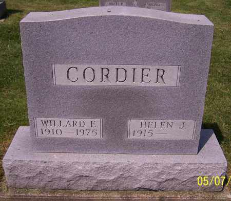 CORDIER, WILLARD E. - Stark County, Ohio | WILLARD E. CORDIER - Ohio Gravestone Photos