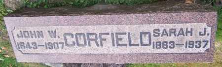 CORFIELD, JOHN W. - Stark County, Ohio | JOHN W. CORFIELD - Ohio Gravestone Photos
