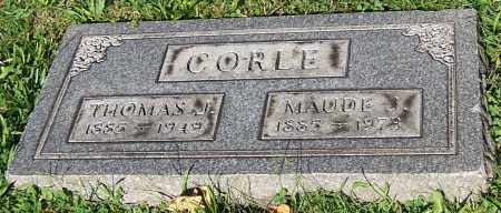 CORLE, MAUDE J. - Stark County, Ohio   MAUDE J. CORLE - Ohio Gravestone Photos