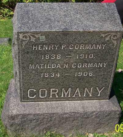 CORMANY, MATILDA N. - Stark County, Ohio | MATILDA N. CORMANY - Ohio Gravestone Photos