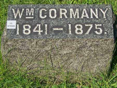CORMANY, WM. - Stark County, Ohio | WM. CORMANY - Ohio Gravestone Photos