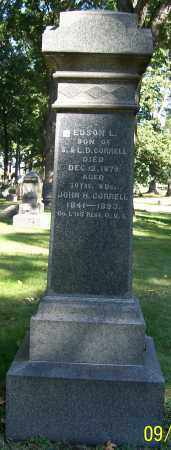 CORRELL, EDSON L. - Stark County, Ohio | EDSON L. CORRELL - Ohio Gravestone Photos